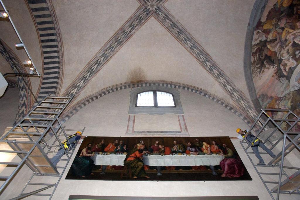 Plautilla Nelli, Das letzte Abendmahl,Firenze, Santa Maria Novella, Walter kratner